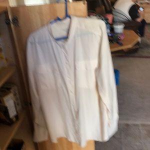 JCrew 100% silk shirt
